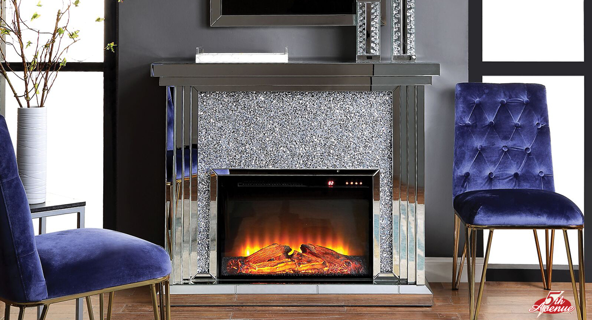 5th Avenue Furniture Fireplace